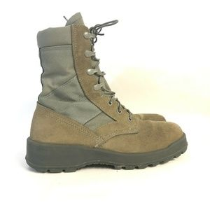 UFCW Green Vibram Military Boots Size 7 23316 USA